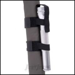 SmittyBilt Mag Light Holder In Black 769520