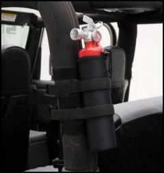 SmittyBilt Fire Extinguisher Holder For 2.5 lb. Size In Black 769540