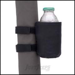 SmittyBilt Roll Bar Drink Holder In Black 769901