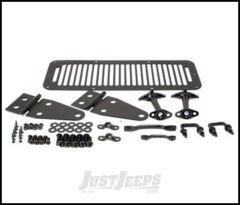 SmittyBilt Complete Hood Kit In Black For 1978-95 Jeep Wrangler YJ & CJ Series 7699