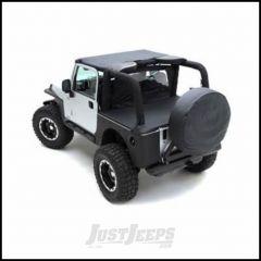 "SmittyBilt Spare Tire Cover For 30""-32"" Tire In Black Denim 773215"