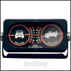 SmittyBilt Clinometer I With Jeep Graphic & Backlit 791005