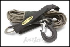 "SmittyBilt Hybrid Fusion Synthetic Rope Rated For 9500lbs. 3/8"" X 100' Long 87895"