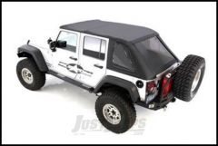 SmittyBilt Bowless Combo  Top With Tinted Windows For 2007-18 Jeep Wrangler JK Unlimited 4 Door Models 9083235