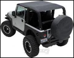 SmittyBilt Extended Brief Top In Mesh For 2010+ Jeep Wrangler JK 2 Door 94200