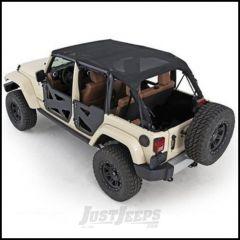 SmittyBilt Strapless Extended Brief Top In Mesh For 2010+ Jeep Wrangler JK Unlimited 4 Door 94600