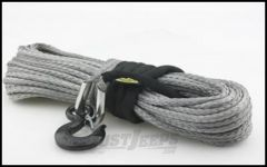"SmittyBilt XRC Synthetic Winch Rope Rated For 12,000 lb. 7/16"" X 88' Long 97712"