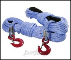 "SmittyBilt XRC Synthetic Winch Rope Rated For 8,000 lb. 5/16"" X100' Long 97780"