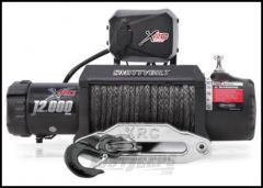 SmittyBilt XRC 12K Gen2 Competition Series Waterproof Winch With Synthetic Line & Hawse Fairlead Rated For 12,000lbs. 98412