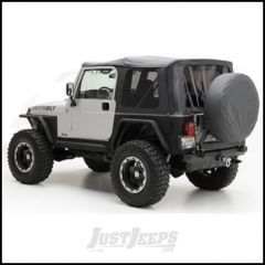 SmittyBilt OE Style Replacement Top With Half Door Uppers & Tinted Windows In Black Diamond For 1997-06 Jeep Wrangler TJ With Half Doors 9970235