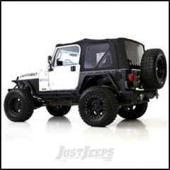 SmittyBilt Premium Replacement Top Skin With Tinted Windows In Black Diamond For 1997-06 Jeep Wrangler TJ Models 9974235
