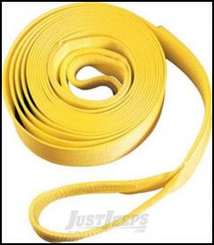 """SmittyBilt Tow Strap 4"""" x 20' Rated For 40,000 lb. CC420"""
