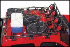 "SmittyBilt Defender Series Roof Rack Large Cargo Net 80"" X 80"" DN11101"
