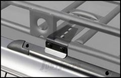 SmittyBilt Defender Series Roof Rack Base Mounting Kit For 2002-07 Jeep Liberty With Factory Roof Rack DS20-4