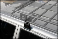 SmittyBilt Defender Series Roof Rack Base Mounting Kit For 1993-2001 Jeep Grand Cherokee & 1990-01 Jeep Cherokee XJ All With Factory Roof Rack DS5-6