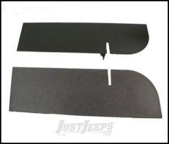 SmittyBilt Rear Frame Cover In Black Textured For 2007-18 Jeep Wrangler JK 2 Door & Unlimited 4 Door Models JB48CRT