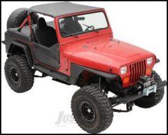 SmittyBilt Side Armor Package Kit In Black For 1987-95 Jeep Wrangler YJ Models YJARMOR1