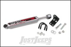 """Rough Country Dual Steering Stabilizer Kit With Performance 2.2 Series Shock For 2007-18 Jeep Wrangler JK 2 Door & Unlimited 4 Door With 2""""-6"""" Lift 8731830"""