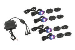 Stinger Off-Road Bluetooth RGB LED Underglow Kit for 07-20+ Jeep Wrangler JL, JK & Gladiator JT JPRGBUB-