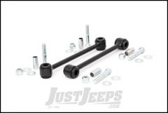 """Rough Country Rear Sway Bar Extended Links For 2007-18 Jeep Wrangler JK 2 Door & Unlimited 4 Door Models With 2.5-4"""" Lift 1134"""