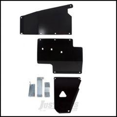 Synergy MFG Standard Skid Plate System For 2012-18 Jeep Wrangler JK 2 Door & Unlimited 4 Door Models 5712-BK