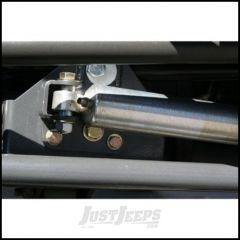 Synergy MFG Steering Stabilizer Relocation Bracket For 2007-18 Jeep Wrangler JK 2 Door & Unlimited 4 Door Models 8007