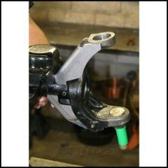 """Synergy MFG Dana 30/44 Inner C Upper & Lower Gusset Kit, 2.5"""" Stock OD Axle Tube For 2007-18 Jeep Wrangler JK 2 Door & Unlimited 4 Door Models 8012-02"""