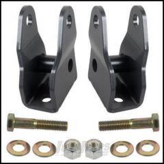 Synergy MFG Front Lower Shock Extension Brackets For 2007-18 Jeep Wrangler JK 2 Door & Unlimited 4 Door Models 8015
