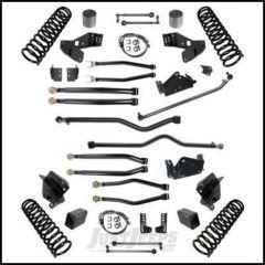 "Synergy MFG Stage 4 Long Arm Suspension System, 4.5"" Lift Kit For 2007-18 Jeep Wrangler JK Unlimited 4 Door Models 8044-45"