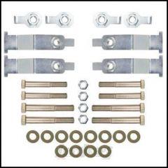 Synergy MFG Complete Replacement Upper Control Arm Hardware Kit For 2007-18 Jeep Wrangler JK 2 Door & Unlimited 4 Door Models 8050-01