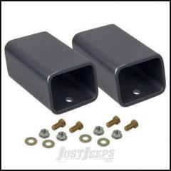 """Synergy MFG 2"""" Rear Bump Stop Spacer Kit For 2007-18 Jeep Wrangler JK 2 Door & Unlimited 4 Door Models 8058-20"""