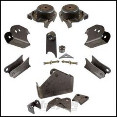 "Synergy MFG HD Front Axle Bracket Kit For 2.5"" Axle Tubes For 2007-18 Jeep Wrangler JK 2 Door & Unlimited 4 Door Models 8071-01"