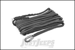 "Rough Country Synthetic Winch Rope 3/8"" x 85' 16000Lbs For Most Standard Winches That Accept Synthetic Rope RS117"