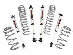 Rough Country 2.5in Suspension Lift Kit V2 Monotube Shocks for 97-06 Jeep Wrangler TJ, TLJ 4CYL 65270