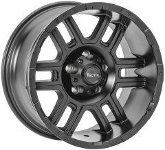 TACTIK T-743 Wheel in Matte Black for 07-20+ Jeep Wrangler JL, JK & Gladiator JT 92615.3020