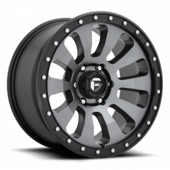 Fuel Off-Road Tactic D648 Wheel, 20x9 with 5 on 5 Bolt Pattern - Anthracite / Black - D64820907557