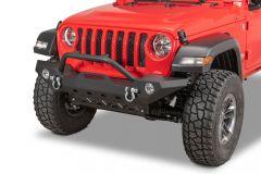 TACTIK HD Front Bumper w/ Hoop for 18+ Jeep Wrangler JL, JLU & 20+ Gladiator JT 12052.0140