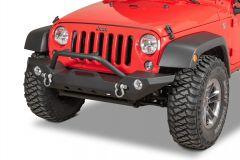 TACTIK HD Front Bumper with Hoop for 07-18 Jeep Wrangler JK, JKU 12052.0141