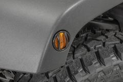 TACTIK Euro Style Side Marker Guards for 07-18 Jeep Wrangler JK, JKU 13117JKS-