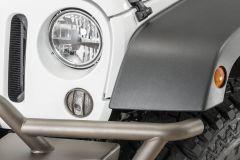 TACTIK Euro Style Turn Signal Guards for 07-18 Jeep Wrangler JK 13117JKT-