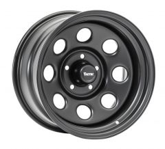 TACTIK Circle 8 Classic Wheel in 17x9 with 4.75in Backspace for 07-20+ Jeep Wrangler JK, JL and Gladiator JT 92615.2513