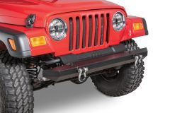 TACTIK Classic Front Bumper with D-Rings for 87-06 Jeep Wrangler YJ, TJ, & TJ Unlimited 12052.0145