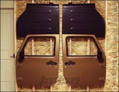 TeraFlex Freedom Top Holder And Full Door Hanger For 2007-18 Jeep Wrangler JK 2 Door & Unlimited 4 Door Models 1830702
