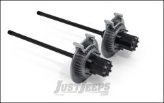 TeraFlex Rear 8-Lug Full Float Dana 44 30 Spline Conversion Axle Kit With Big Slotted Rotors For 2007-18 Jeep Wrangler JK 2 Door & Unlimited 4 Door Non Rubicon Models 3043100