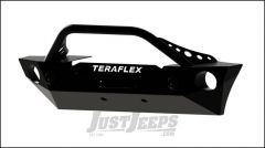 TeraFlex Epic Front Bumper With Hoop Kit & Offset Drum Winch Mount For 2007-18 Jeep Wrangler JK 2 Door & Unlimited 4 Door Models 4653130