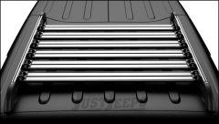 TeraFlex Nebo Roof Rack Cargo Slat Kit in Silver For 2011+ Jeep Wrangler JK Unlimited 4 Door Models 4722050