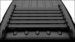 TeraFlex Nebo Roof Rack Cargo Slat Kit in Black For 2011+ Jeep Wrangler JK Unlimited 4 Door Models 4722060