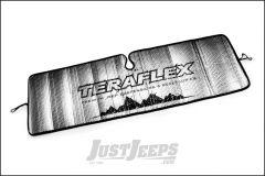 TeraFlex Windshield Sun Shade For 2007-18 Jeep Wrangler JK 2 Door & Unlimited 4 Door Models 5028701