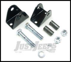 TeraFlex Front Lower Shock Bar Pin Eliminator Kit For 1997-06 Jeep Wrangler TJ & Unlimited, 1984-01 Cherokee XJ & 1993-98 Grand Cherokee 1203700