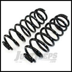 """TeraFlex 1.5 - 2.5"""" Lifted Rear Coil Springs Pair For 2007-18 Jeep Wrangler JK 2 Door & Unlimited 4 Door 1854052"""